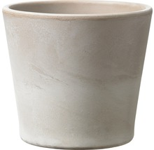 Pot de fleurs Soendgen Dover, céramique, Ø 15 H 13 cm, gris sable-thumb-0
