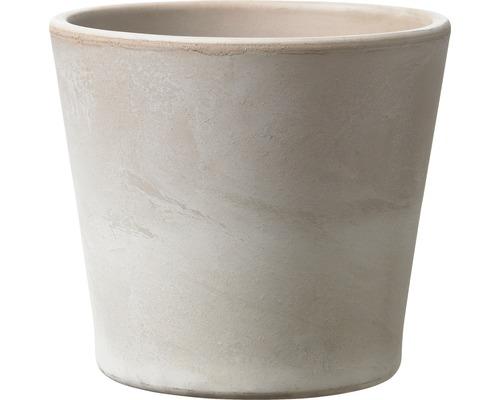 Pot de fleurs Soendgen Dover, céramique, Ø 15 H 13 cm, gris sable-0