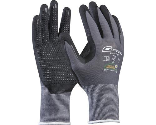 Gants de travail Multi-Flex noir T9