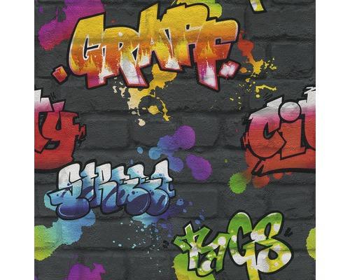 Papier peint d''enfant 237801 Kids & Teens 2 Graffiti gris