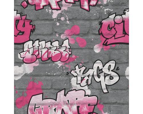 Papier peint d''enfant 237818 Kids & Teens 2 motif enfant argent