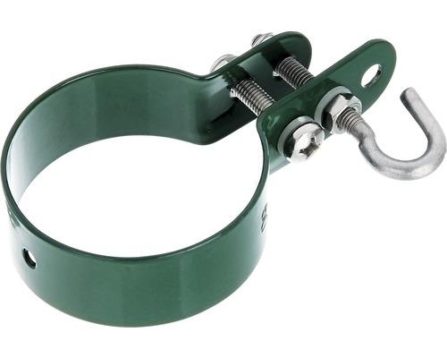 Collier pour barre de tension pour grillage Ø 6cm, vert