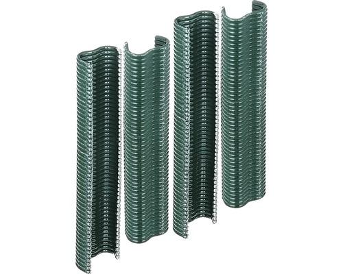 Pinces métalliques 2.2cm, 200 pièces, vert