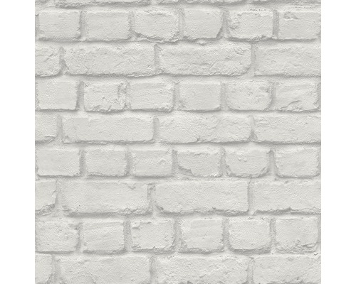 Papier peint papier 226713 Kids & Teens 2 Kids Club aspect pierre gris clair