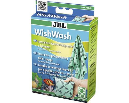 Chiffon de nettoyage pour aquarium JBL et éponge WishWash