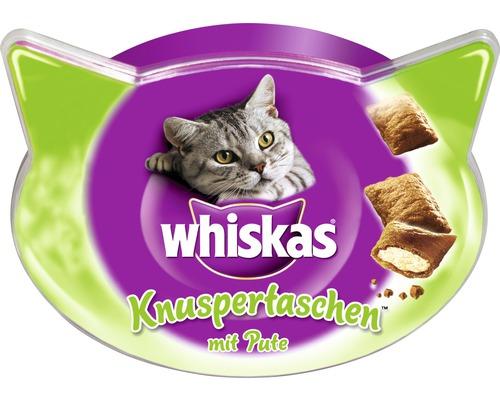 Whiskas Sachets de friandises croustillantes Whiskas à la dinde 60g
