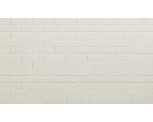 Pierre de parement marbre blanc Elastolith 21x5 cm
