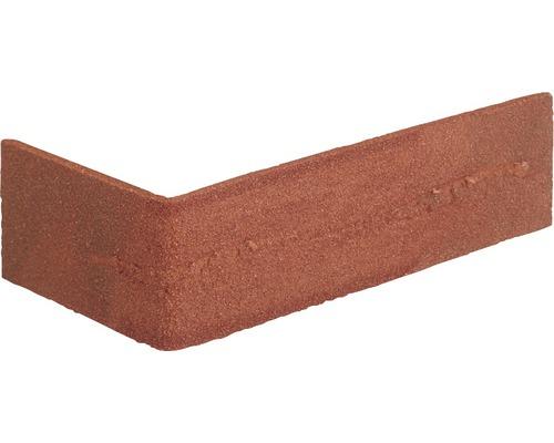 Angle pour plaquette de parement Nuance rouge 24x7.1cm Elastolith