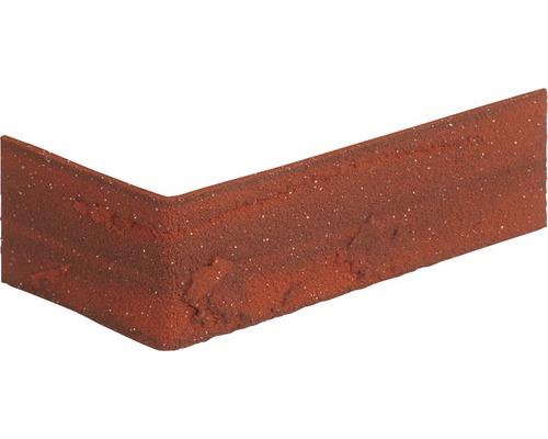 Pierre de parement pour coins vieux rouge 24x7.1 cm Elastolith