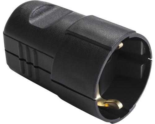 Contact de protection pour connecteur 16A IP20 droit noir
