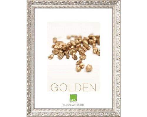Cadre en bois GOLDEN argent 10x15 cm