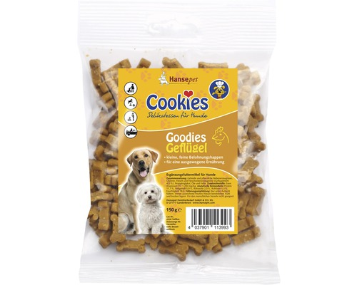 Cookies Goodies volaille 150g