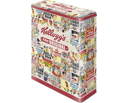 Boîte de rangement XL Kellogg''s Original Collage 4 L