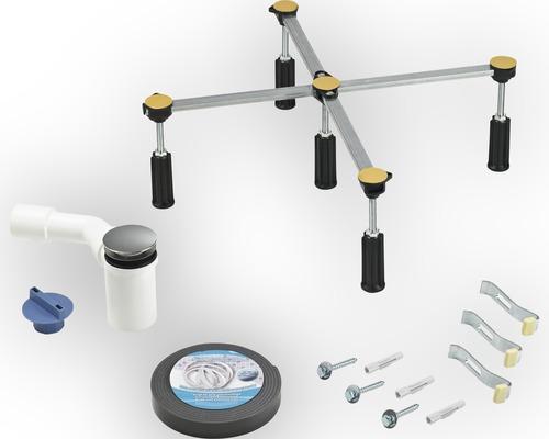 Kit de montage pour bac de douche Ø 50 mm