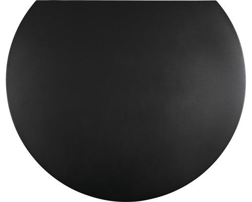 Plaque de protection contre les étincelles acier 105x120cm gris