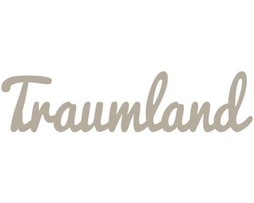 Déco murale 3d Traumland taupe 30x120 cm