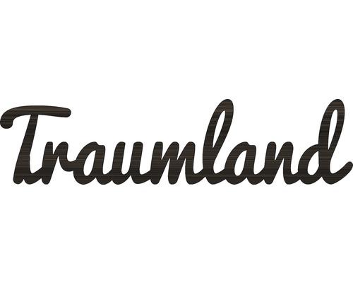 Déco murale 3d Traumland wengé 25x70 cm