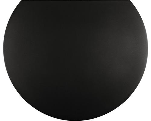 Plaque de protection contre les étincelles acier 105x120 cm noir