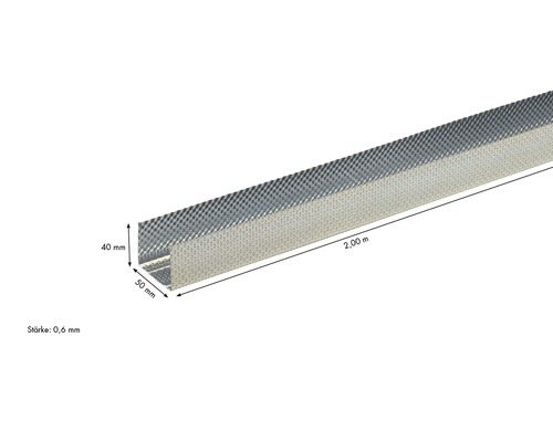 uw db profil de cadre knauf 50x40 mm longueur m. Black Bedroom Furniture Sets. Home Design Ideas