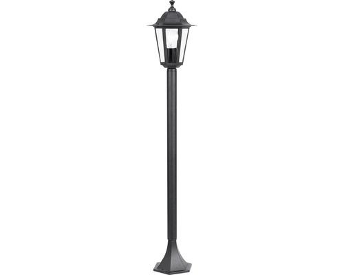 Lampadaire extérieur 1 ampoule H 1000 mm Laterna noir