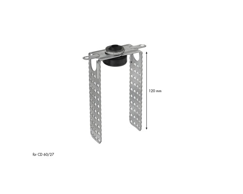 Suspension oscillante directe Knauf pour profilé CD 60 x 27 mm 120 mm