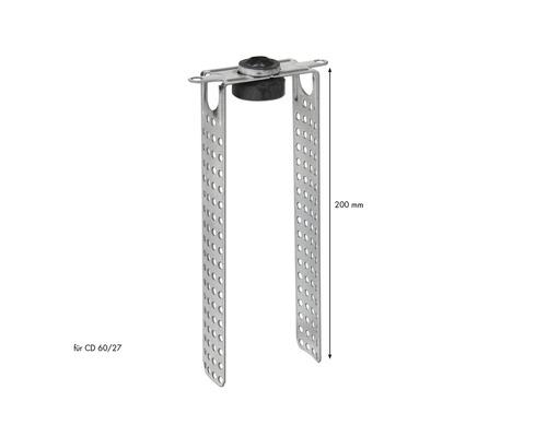 Suspension oscillante directe KNAUF pour CD 60/27 200mm-0