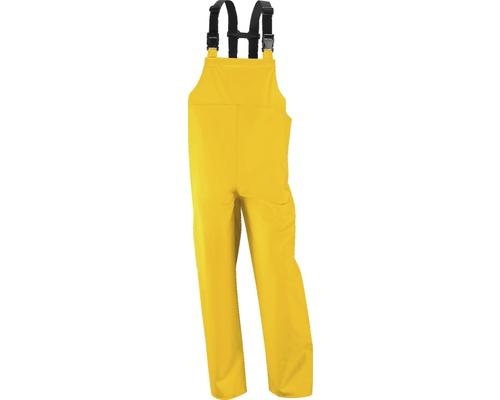 Salopette de pluie PUplus jaune, taille M