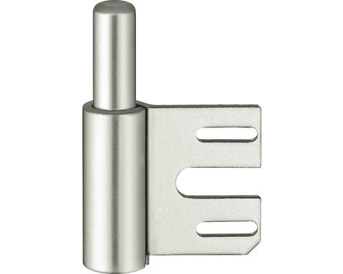 Partie inférieure de bande nickelée V8100 pour huisseries d''angle