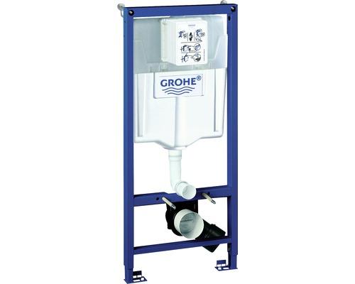 Bâti-support GROHE Rapid SL pour WC avec réservoir de chasse d''eau et équerre murale H : 113cm 38536001