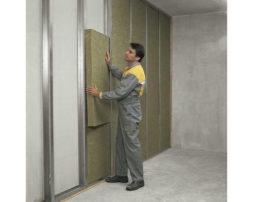 Panneau de protection au feu ISOVER Protect BSP 40 pour l''aménagement intérieur catégorie de conductivité thermique 040 1200 x 625 x 40 mm