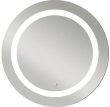 LED Badspiegel Silver Sun mit Alurahmen Ø 59 cm IP 24 (spritzwassergeschützt)-thumb-0