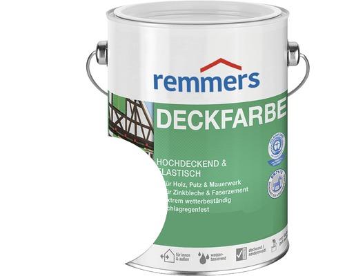 Peinture couvrante pour bois Remmers RAL 9016 blanc 750ml