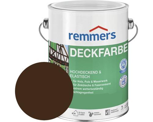 Remmers Deckfarbe Holzfarbe nußbraun 750 ml