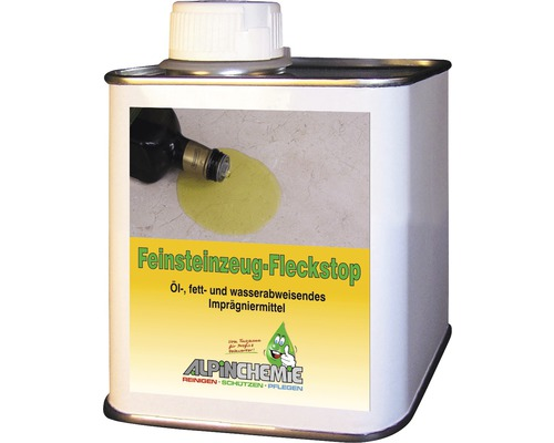 Feinsteinzeugfleckstop AlpinChemie 500 ml