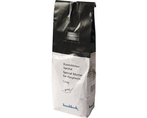 Buschbeck Colle pour cheminée grise 1.5 kg