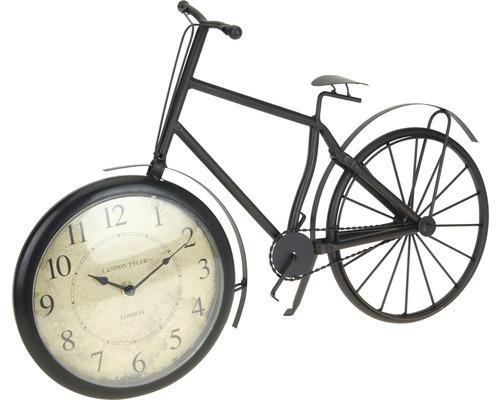Horloge de table Vélo en métal 33x50 cm