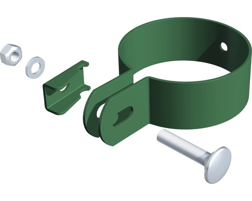 Collier Ø 6cm, vert