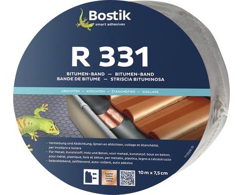 Bande d''étanchéité bitumineuse Bostik R 331 cuivre 10 m x 7,5cm