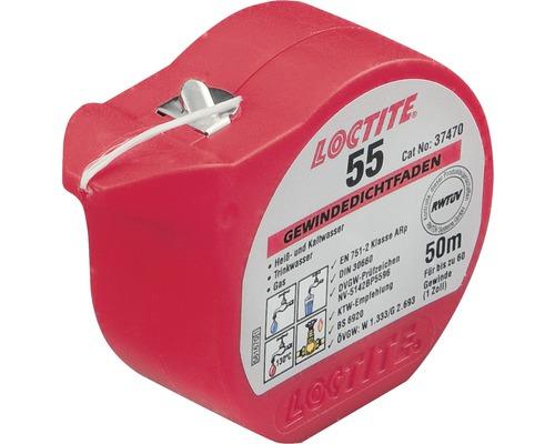 Loctite 55 - fil d''étanchéification pour filetage 50m