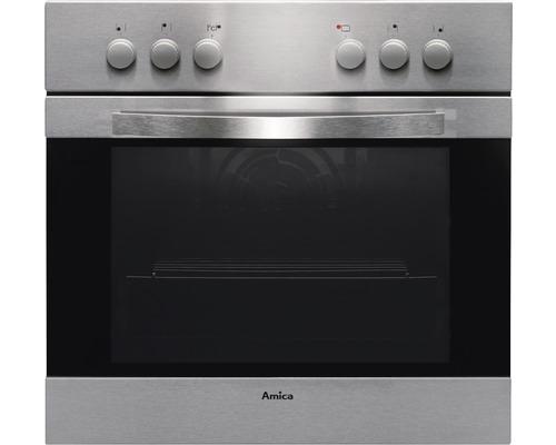 Kit de cuisinière encastrable EEK A Amica EHC 12516 E en acier inoxydable