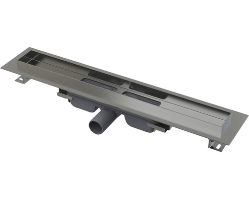Duschrinne APZ106 550 mm 65 mm Muldentiefe für mind. 60 cm Breite Dusche edelstahl