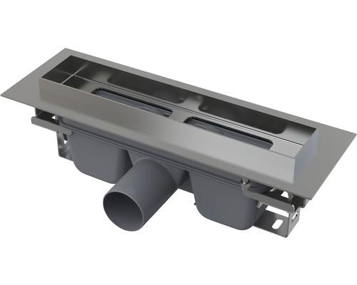 Duschrinne APZ6 300 mm 95 mm Muldentiefe edelstahl