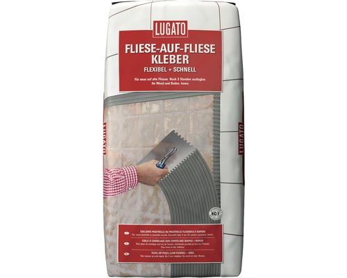 Colle flexible Lugato carreau sur carreau 20 kg