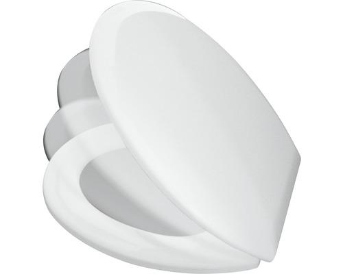 Abattant WC ADOB Triest blanc avec abaissement automatique