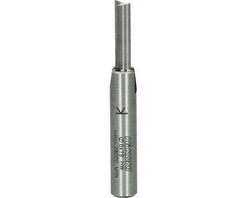 Fraises à rainer métal dur Hitachi Ø 6x57 mm