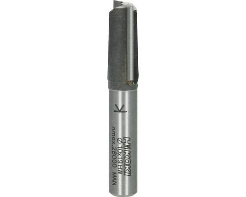Fraises à rainer métal dur Hitachi Ø 10x51 mm