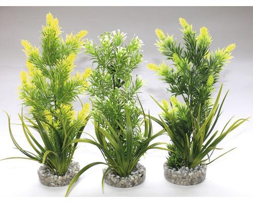 Plantes en plastique Sydeco Aquaplant médium 22 cm de hauteur
