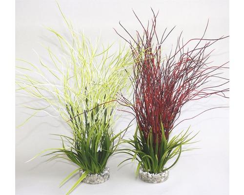 Plante en plastique Sydeco Water hair grass 39 cm de hauteur