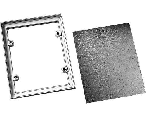 Cadre à carreler PVC blanc pour carreau 30x30 cm