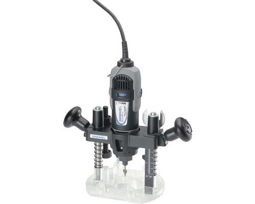Adaptateur pour défonceuse plongeante Dremel 335